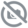 Adam Hall - Swivel castor without brake and blue wheel - 100mm